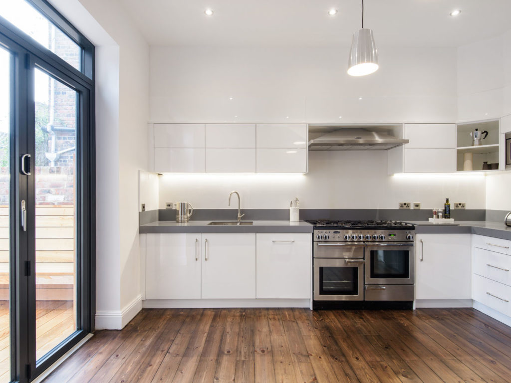 residential, kitchen, house, home, contemporary, white,